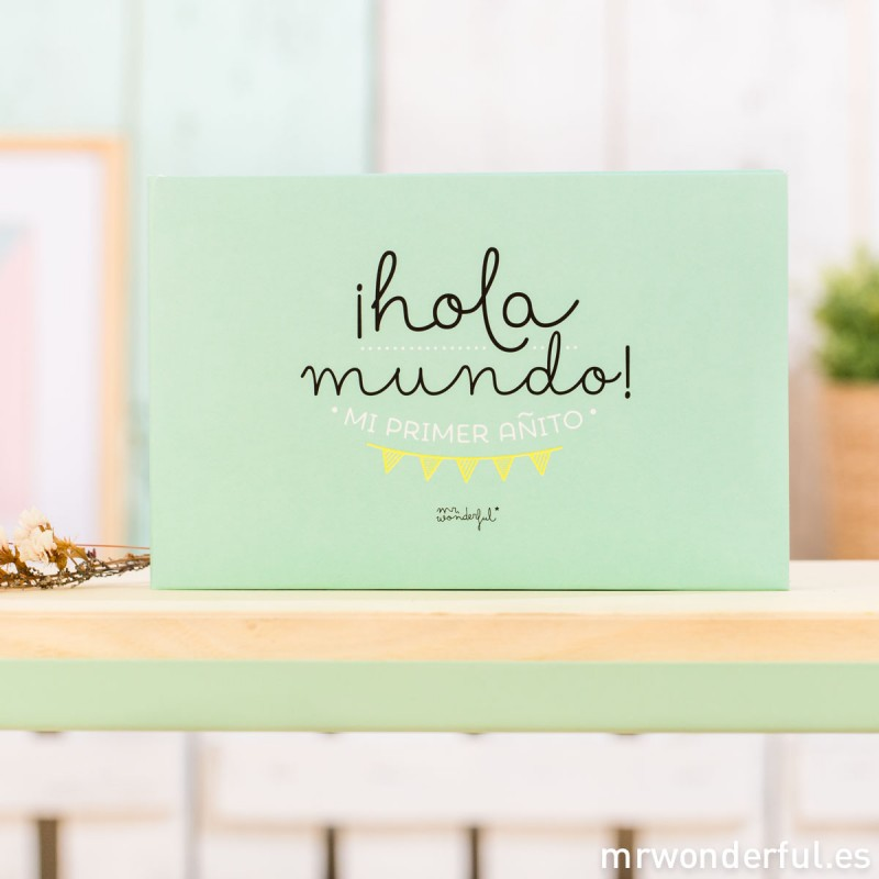 "Álbum ""Hola mundo"" de Mr Wonderful"